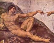 Адам; Микельанджело