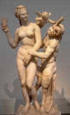Афродита, Эрот и Пан